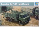 TRUMPETER 小號手 GAZ-66 Light  Truck 比例 1/35 01016 需拼裝上色