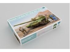 Trumpeter 蘇聯 T-62坦克1975年型(1962年型+KTD2) 01551  比例 1/35 需組裝黏著+上色 塑膠材質
