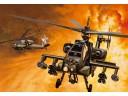 ITALERI AH-64 APACHE 攻擊 直升機 比例 1/72 0159