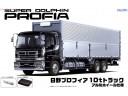 Aoshima 日野 HINO 10 頓 10 t 貨櫃車 貨車 比例 1/32 卡車 需拼裝上色 011936