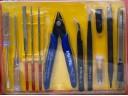 製作 模型 工具組 斜口鉗 銼刀 螺絲起子 捏子 攝子 筆刀 刀片