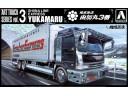 Aoshima 貨櫃車 比例 1/32 卡車 需拼裝上色