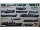 田宮 TAMIYA WWII Japanese Navy Utility Boat Set 二戰日本海軍艦載艇組 1/350 NO.78026