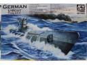 AFV 戰鷹 German U-Boat Type VII C 1/350 NO.SE73503