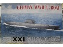 AFV 戰鷹 GERMAN U-BOAT TYPE XXI 1/350 NO.SE73501