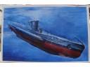 AFV 戰鷹 German U-Boat Type VII B 1/350 NO.SE73502