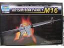 TRUMPETER 小號手 AR15/M16/M4槍族之 M16 1/3 NO.01901