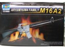 TRUMPETER 小號手 AR15/M16/M4槍族之M16A2 1/3 NO.01907