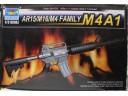 TRUMPETER 小號手 AR15/M16/M4槍族之 M4A1 1/3 NO.01908