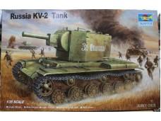TRUMPETER 小號手 蘇聯KV-2坦克 1/35 NO.00312