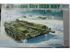 TRUMPETER 小號手 Sweden Strv 103B MBT 1/35 NO.00309