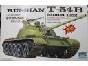 TRUMPETER 小號手 俄羅斯T-54B 1/35 電動馬達版 NO.MM00338