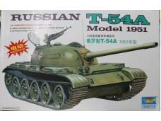 TRUMPETER 小號手 俄羅斯T-54A 電動馬達版 1/35 NO.MM00340