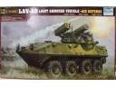 TRUMPETER 小號手 USMC LAV-AD LIGHT ARMORED VEHICLE-AIR DEFENSE 1/35 NO.00393