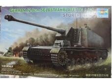 "TRUMPETER 小號手 德國128毫米自行火炮 ""STURER EMIL"" 1/35 NO.00350"