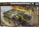 TRUMPETER 小號手 GERMAN Entwicklungsfahrzeug E10 tank 1/35 NO.00385