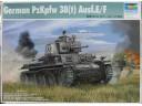 TRUMPETER 小號手 德國PzKpfw 38(t) Ausf.E/F坦克 1/35 NO.01577