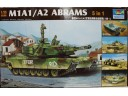 TRUMPETER 小號手 美國M1A1/A2 艾布拉姆斯主戰坦克(5合1) 1/35 NO.01535