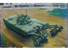 TRUMPETER 小號手 M1 Panther II Mineclearing Tank 1/35 NO.00346