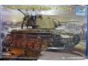 TRUMPETER 小號手 蘇聯KV-1 1942輕量化鑄造炮塔坦克 1/35 NO.00360