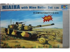 TRUMPETER 小號手 M1A1HA with mine roller set 電動馬達版 1/35 NO.MM00336