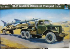TRUMPETER 小號手 薩母-2型地對空導彈及運輸裝填車 1/35 NO.00204