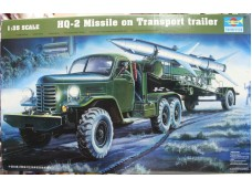 TRUMPETER 小號手 HQ-2 Missile on Transport trailer 1/35 NO.00205