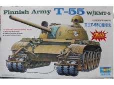 TRUMPETER 小號手 芬蘭T-55掃雷坦克 電動馬達版 1/35 NO.MM00341