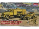 ACADEMY German Fuel Truck & Schwimmwagen 1/72 NO.13401