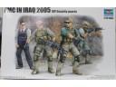 TRUMPETER 小號手 軍事承包商在伊拉克2005-要人保衛小組 1/35 NO.00420