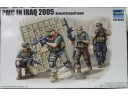 TRUMPETER 小號手 軍事承包商在伊拉克2005-武裝突襲小組 1/35 NO.00419