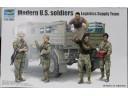 TRUMPETER 小號手 現代美軍士兵-後勤補給組 1/35 NO.00429