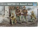 TRUMPETER 小號手 WAFFEN SS ASSAULT TEAM 1/35 NO.00405