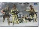 TRUMPETER 小號手 士兵-2003伊戰之美國海軍陸戰隊員 1/35 NO.00407
