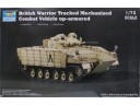 TRUMPETER 小號手 British Warrior Tracked Mechanised Combat Vehicle up- armored 1/72 NO.07102