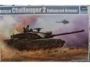 TRUMPETER 小號手 英國挑戰者2型主戰坦克帶柵欄裝甲 1/35 NO.01522
