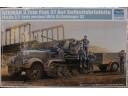 TRUMPETER 小號手 德國Sd.Kfz.7/2八噸半履帶3.7cm自行防空炮(早期型) 1/35 NO.01525