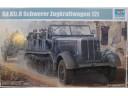 TRUMPETER 小號手 German Sd.Kfz. 8 12 Ton heavy halftrack 1/35 NO.01583