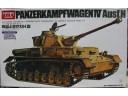 ACADEMY PANZERKAMPFWAGEN IV Ausf.H 1/35 NO.TA038