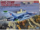 "ACADEMY MiG-21 MF ""POLISH AIR FORCE"" 1/48 NO.12224"
