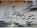 HASEGAWA 長谷川 Aircraft Weapons Set E - US Air to Air Missiles & Target Pods 1/48 NO.X48-017/36117