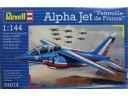 REVELL Dassault/Dornier Alpha Jet Patrouille de France 1/144 NO.04014