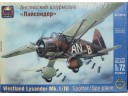 ARK MODELS Westland Lysander Mk.I /III Spotter/Spy Plane 1/72 NO.72018