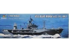 TRUMPETER 小號手 美國海軍藍嶺號LCC-19 1997年 1/700 NO.05715