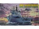 DRAGON 威龍 H.M.S. Illustrious, Royal Navy Fleet Flagship 1/700 NO.7046