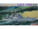 DRAGON 威龍 H.M.S. York Type 42 Destroyer Batch 3 1/700 NO.7055