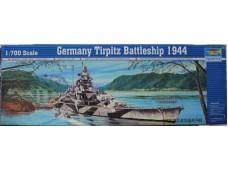 TRUMPETER 小號手 德國提爾皮茨號戰列艦 1/700 NO.05712