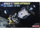 "DRAGON 威龍 Apollo 11 ""Lunar Approach"" CSM ""Columbia"" + LM ""Eagle"" 1/72 NO.11001"