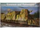 TRUMPETER 小號手 German Kanonen und Flakwagen 1/35 NO.01511
