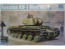 TRUMPETER 小號手 蘇聯KV-1 M1939年炮塔型坦克 1/35 NO.01561